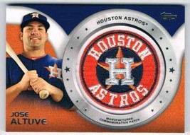 2014 Topps Commemerative Patch Cards #CP-43 Jose Altuve NM-MT Astros - $22.72