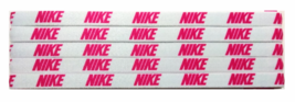 Nike Unisex Running All Sports NIKE PINK  LOGO Sports Design Headband NEW - $6.50
