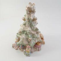 Lenox Holiday Traditions Christmas Tree Centerpiece Figurine Pastel image 4
