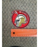 Spartan Warrior Silhouette Sew or Iron on Patch NEW Medieval Gladiator - $13.23