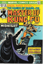 Special Marvel Edition Comic Book #16 Master of Kung Fu, Marvel 1974 VERY FINE- - $38.61