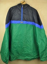 Vtg 90's K-WAY Shell Pac-A-Mac PONCHO Rain Jacket - Small/XS - $34.83