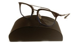 Prada Women's Blue Crystal Glasses with case VPR 11U K3O-1O1 51mm - $209.99