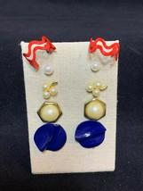 Lot of 5 Pair OF Pierced Earrings (2118) - $10.00