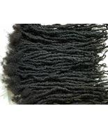 "100% Human Hair Locks handmade Dreadlocks 160 pieces 8"" color black natu... - $533.90"