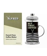 ALFRED FRENCH PRESS COFFEE MAKER - Brand New in Box - Limited Edition - $14.31