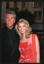 2000 MICHAEL BUFFER & WIFE Candid Original 35mm Slide Transparency ANNOU... - $12.69