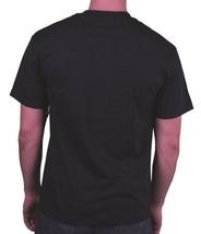 Fly Society Uomo Nero Maui Wowie Erba Fumare Marijuana Aviatore Alto T-Shirt Nwt image 2