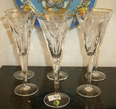 Waterford Millennium Collection Toasting Flutes (5) & the Universal Toast Flute - $199.00