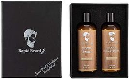Beard Shampoo and Beard Conditioner Wash & Growth kit for Men Care - Sandalwood  image 7