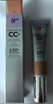 IT Cosmetics CC+ Color Correcting Full Coverage Cream Serum SPF50 LIGHT New - $34.65