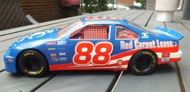 Dale Jarrrett #88 1995 Red Carpet Lease NASCAR Ford Thunderbird 1/24 Die... - $19.88