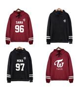 Kpop TWICE Hoodies Sweatshirts Sana Da Hyun Na Yeon Mina Momo Unisex Hoodie - $15.99