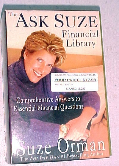 The Ask Suze Financial Library (9 Books)