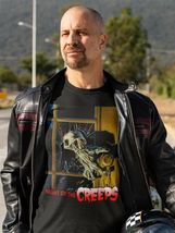 Night of the Creeps T Shirt retro 1980s zombie horror sci fi movie graphic tee image 3