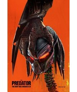 "The Predator Movie Poster Shane Black 2018 Film Print 13x20"" 24x36"" 27x40"" 32x48 - £6.43 GBP - £13.55 GBP"
