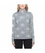 Kirkland Signature Women's ¼ Zip Pullover Gray Small - $9.92