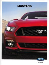 2015 Ford MUSTANG sales brochure catalog 15 US V6 EcoBoost GT Red Front ... - $9.00