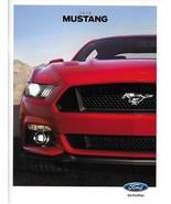 2015 Ford MUSTANG sales brochure catalog 15 US V6 EcoBoost GT Red Front ... - $9.00