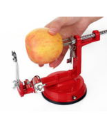 Apple Peeler Fruit Slicing Peeling Kitchen Tool Vegetable Potato Slicer ... - $29.74 CAD