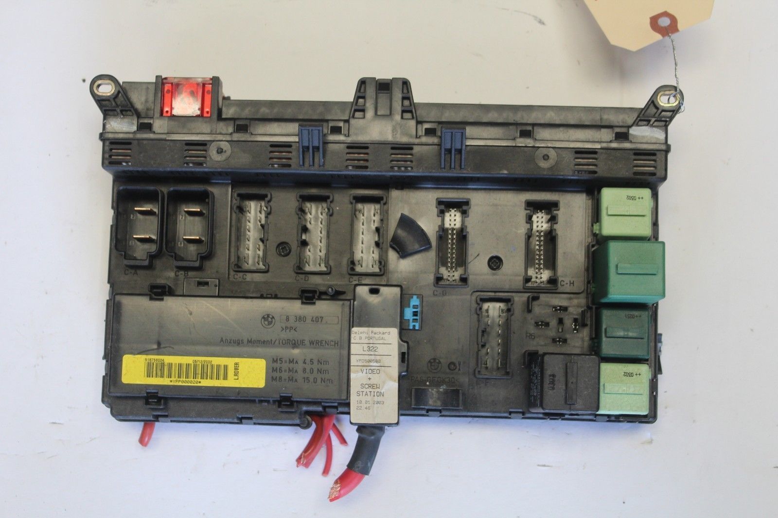 2003-2005 land range rover under dash fuse and similar items  s l1600