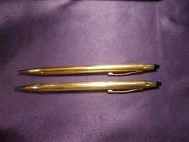 Cross 14K Gold Filled Pencil Set of Two Case Vintage Executive Drafting ... - $321.75