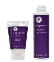 NEW LOT OF 2 BY BROCATO, SUPERSILK LEAVE IN (4OZ) & WASH OUT (8.5OZ) CON... - $48.99