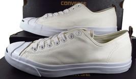 Converse Jack Purcell JP JACK OX Nylon WHITE Lunarlon Sole 151481C (10.5... - $52.50
