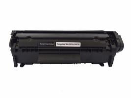 2 pk Q2612A 12A Black Toner Cartridge For HP LaserJet 3055, M1319 MFP - $17.75