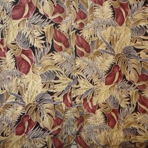 Aloha Shirt Hawaiian Pacora Anthurium Flower Leaves Size Large Pierre Cardin - $17.56