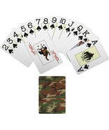 Woodland Camouflage Novelty Playing Cards Deck - $7.99