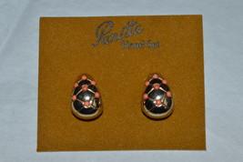 Vintage 1960's Panetta Clip-On Earrings---New on Original Advertising Card - $49.99