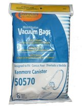 Kenmore Canister Style 50570 Vacuum Cleaner Bags 8 pack by Kenmore - $9.32