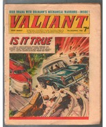 Valiant 12/7/1968-Fleetway-tabloid-auto/train crash-Steel Claw-U.K.-VG - $94.58
