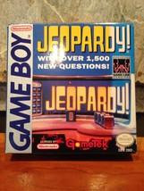 Jeopardy (Nintendo Game Boy Gametek) Complete CIB Free Shipping - $11.62