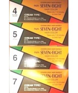 1 PCS PAON SEVEN-EIGHT #4, #5, #6, #7 CREAM TYPE HAIR COLOR - New! - $4.80+