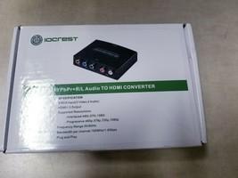 IOCrest YPbPr+R/L Audio to HDMI Converter - $10.40
