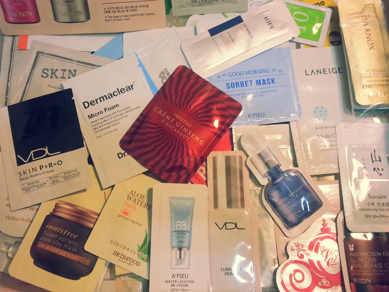 100-Piece Laneige Mamonde Nature Republic Ohui Primera Korean Skincare Samples - $120.00
