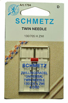 Schmetz Sewing Machine Twin Needle 1794 - $6.58