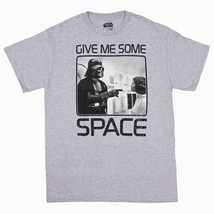 Star Wars Darth Vader Princess Leia Men's Small Gray Graphic T-Shirt NEW - $11.97