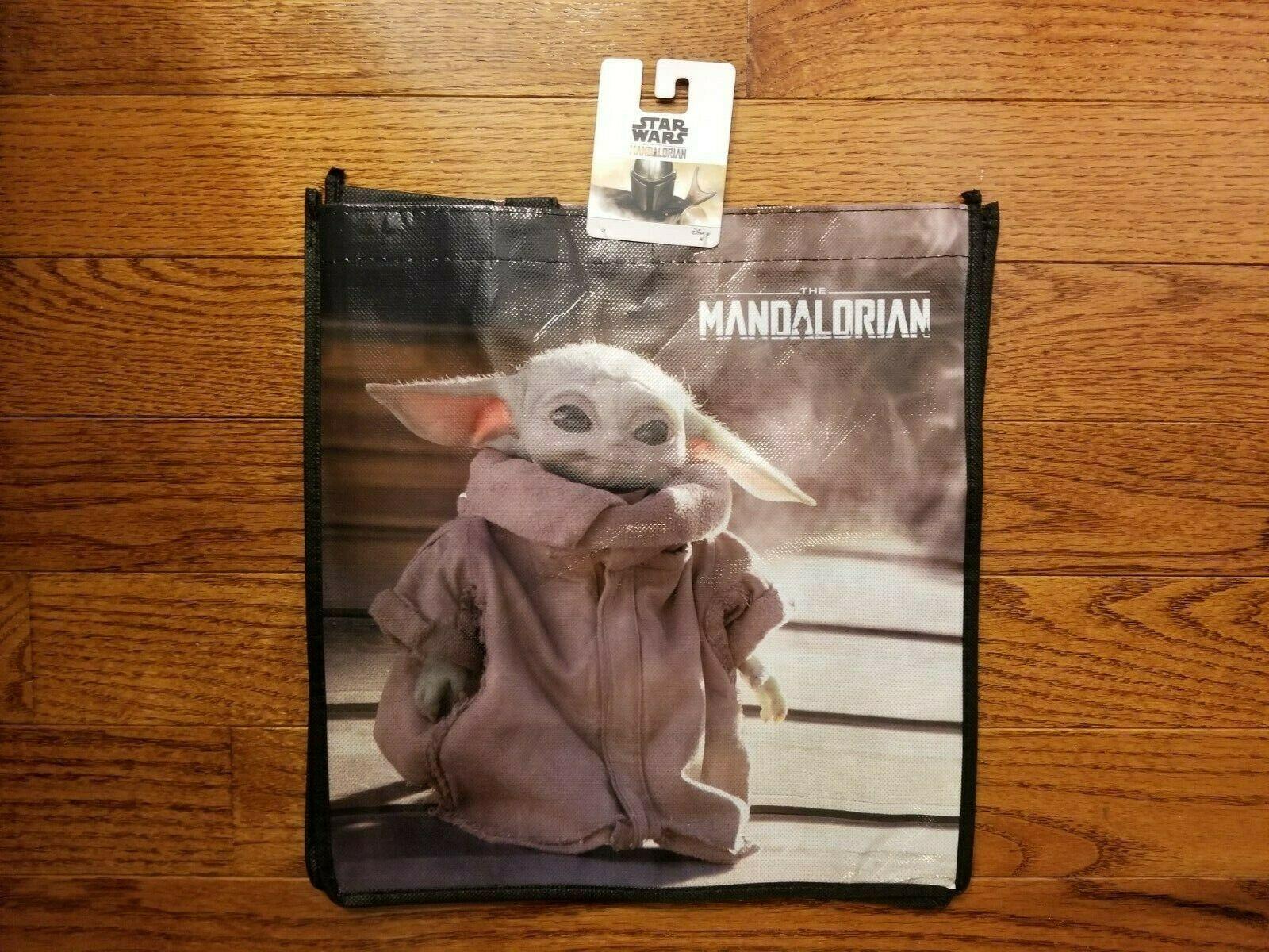 Star Wars: The Mandalorian Baby Yoda The Child Grogu Reusable Tote Bag
