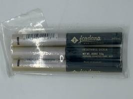 Lot of 3 NEW Jordana Eye Fixation Long Wearing Shadow  EF-03 Insatiable Silver - $12.99