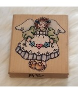 Rubber Stampede Sarah Angel A1319H Country Wooden Rubber Stamp - $3.67