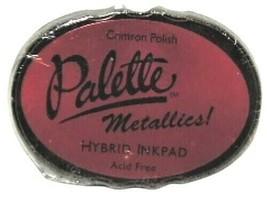 Palette Metallics Hybrid Ink Pad, Crimson Polish