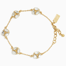 Kate Spade Lady Marmalade Chain Link Bracelet, Gold