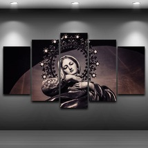 5 Pcs Virgin Mary Artistic Home Decor Wall Picture Printed Canvas Painting - $45.99+