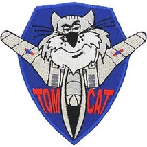 US NAVY F-14 Tomcat or Tom Cat Patch - $6.92