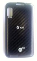 Original OEM Motorola Atrix  MB860 Standard Back Cover Battery Door AT&T - $9.89