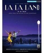 Piano Solo Piano and Vocal LA LA LAND Sheet Music Book Japan - $24.68