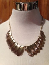 Simply vera Vera Wang Necklace Gold Fashion Jewerly NWT Costume - $14.96